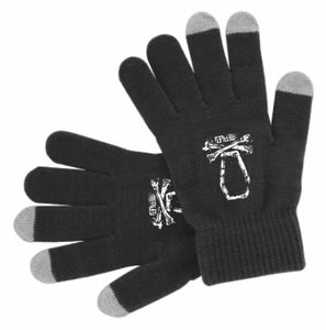 Image of Touch Screen Gloves Coffin & Bones
