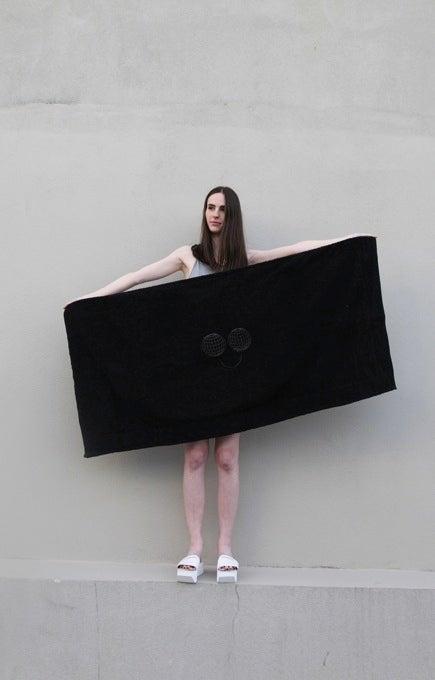 Image of Unity Blanket Towel - Greyscale