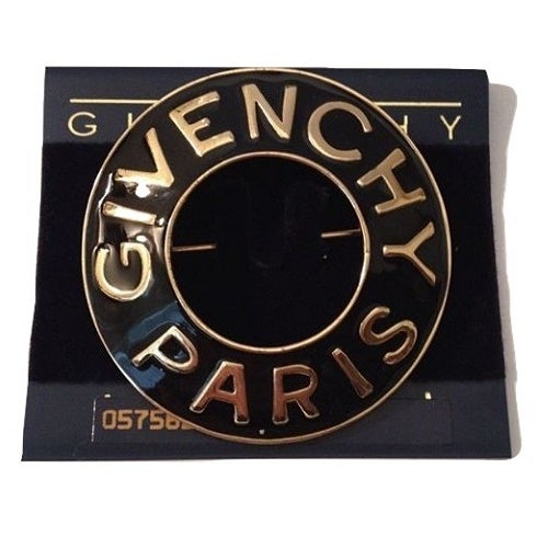 Image of Givenchy Paris Bijoux Authentic Massive Circular Pin Brooch - MINT CONDITION
