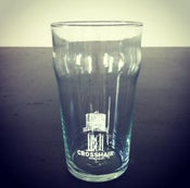 Image of Crosshair Royal Pint Glasses, set of 2