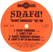 "Image of SNAFU!  ""BLUNT SMOKERS '95-'98"" EP  ***SOLD OUT***"