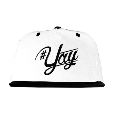 Image of YAY SNAP BACK WHITE