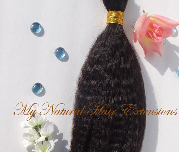 Image of Kinky Straight Bulk √ Great for Braiding Hair