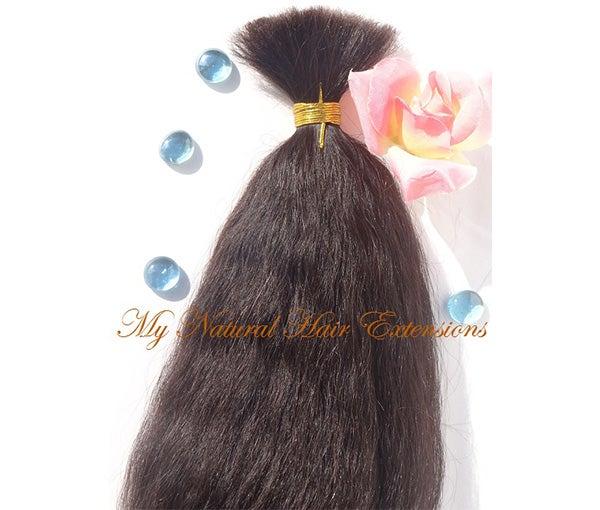 Image of Coarse Yaki Bulk - Ideal for Braiding Hair