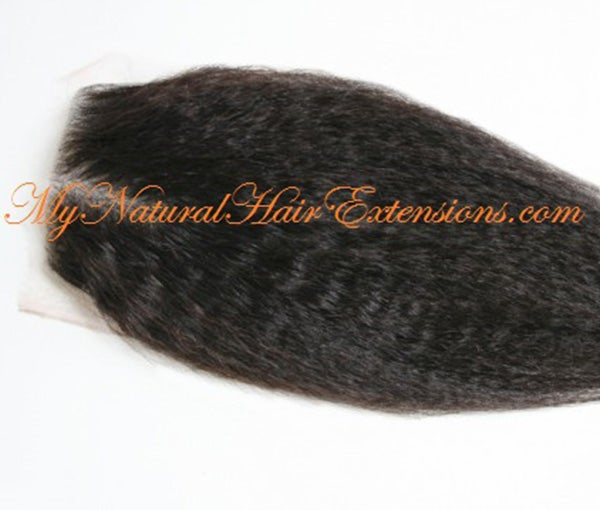 Image of Closures for natural hair extensions
