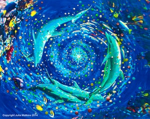 Image of Dolphin Vortex - The Healing World