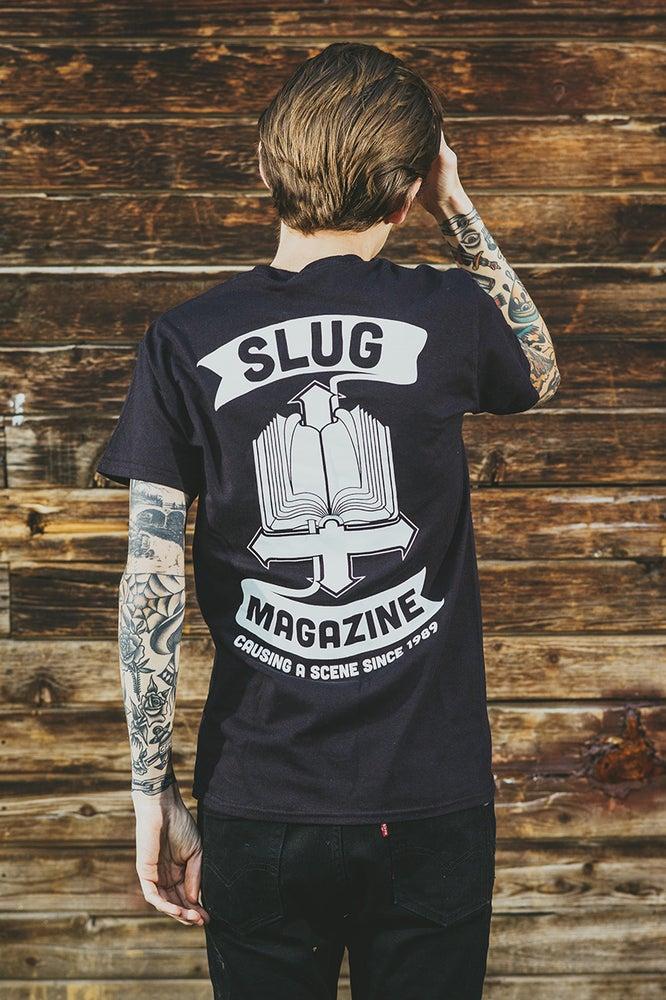 Image of Black SLUG Bible Tee