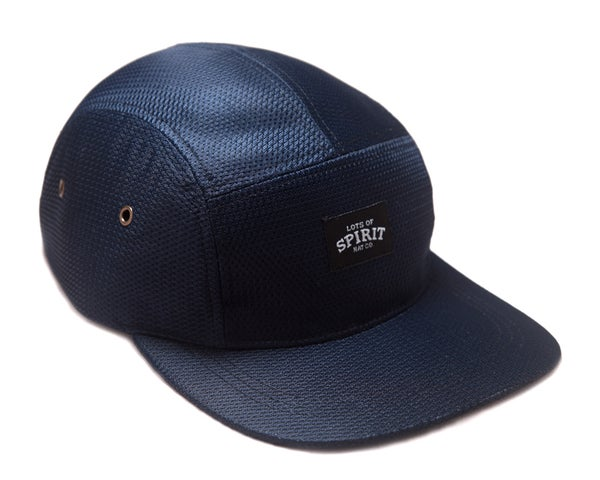 Image of Navy Mesh 5 Panel