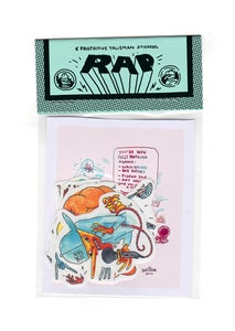 Image of rap-talisman-stickers