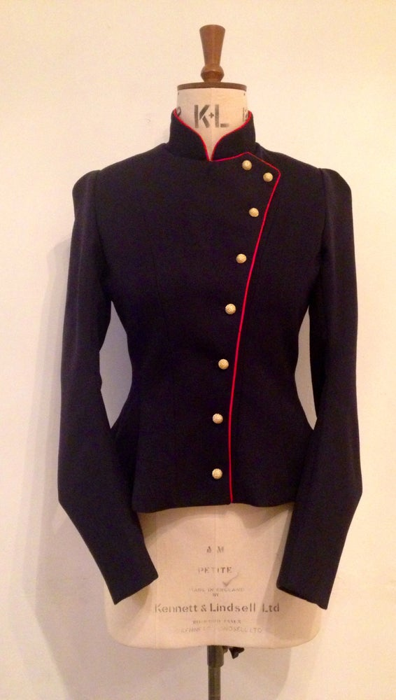 Image of Fencing jacket with contrast piping
