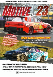 Image of Motive DVD #23 World Time Attack Challenge 2014 Special Edition