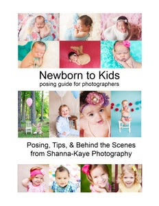 Image of Newborn to Kids Posing Guide for Photographers