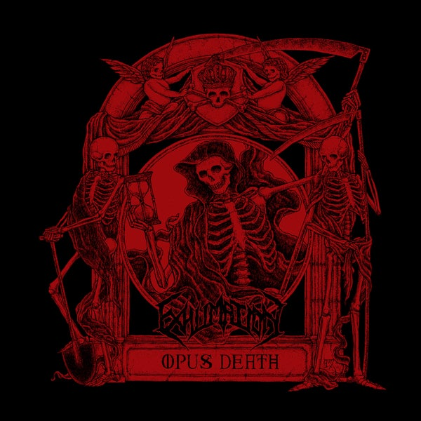 "Image of EXHUMATION ""Opus Death"" Super Jewel Box CD"