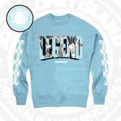 Image of Legend UNC - Crew neck - Legend Blue