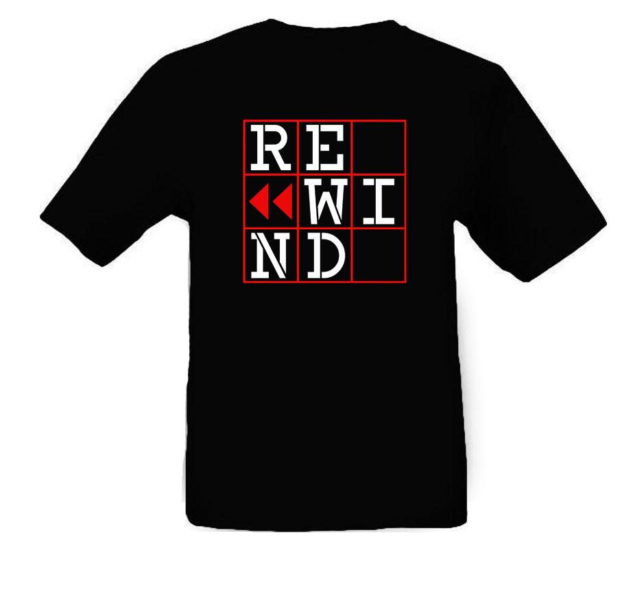 Image of T-shirt REWIND