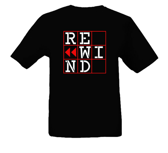 Image of T-shirt REWIND