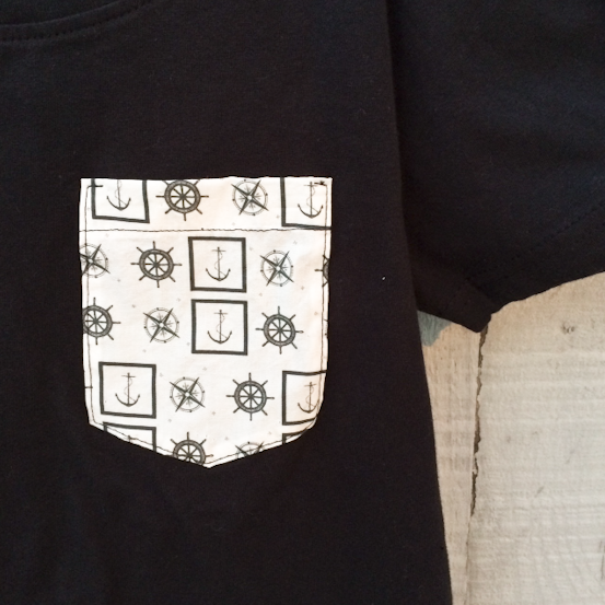 Image of New Women's Nautical Pocket Tee