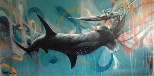 """Image of """"Igor"""" Original painting"""