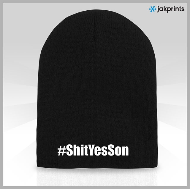 Image of #ShitYesSon Beanie