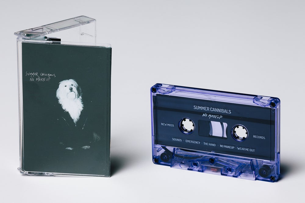 "Image of Summer Cannibals, ""No Makeup"" Cassette"
