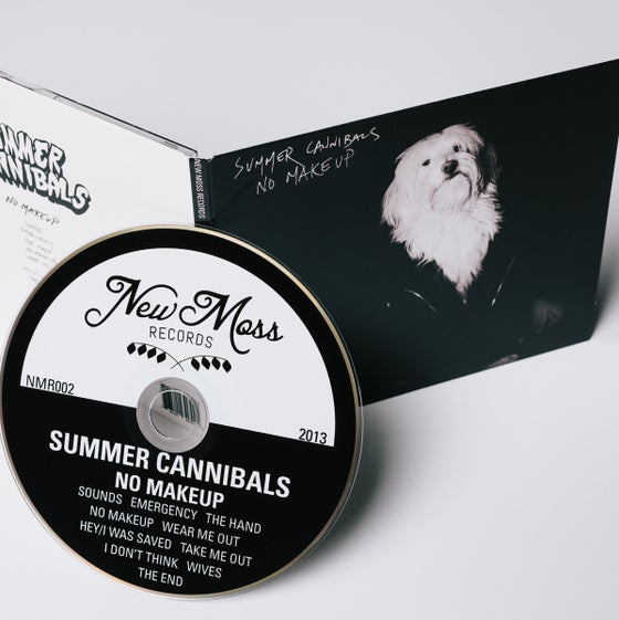 "Image of Summer Cannibals, ""No Makeup"" CD"