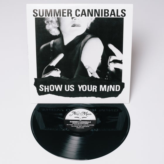 "Image of Summer Cannibals, ""Show Us Your Mind"" - 180 Gram Black Vinyl"