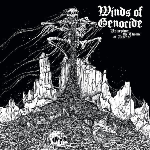 "Image of WINDS OF GENOCIDE ""Usurping The Throne Of Disease""  CD"