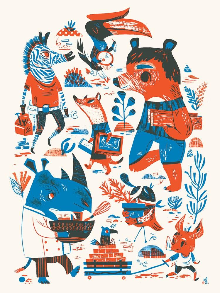 Image of Meg Hunt Poster