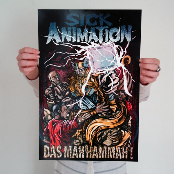 That's My Hammer Mini-Poster - Sick Animation Shop