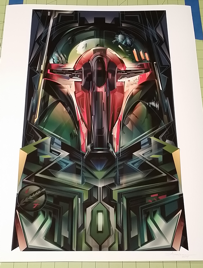 Image of the MANDALORIAN-18x24-Edition:75