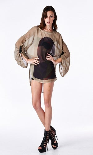 Image of Sexy Chic Oversize Blouse