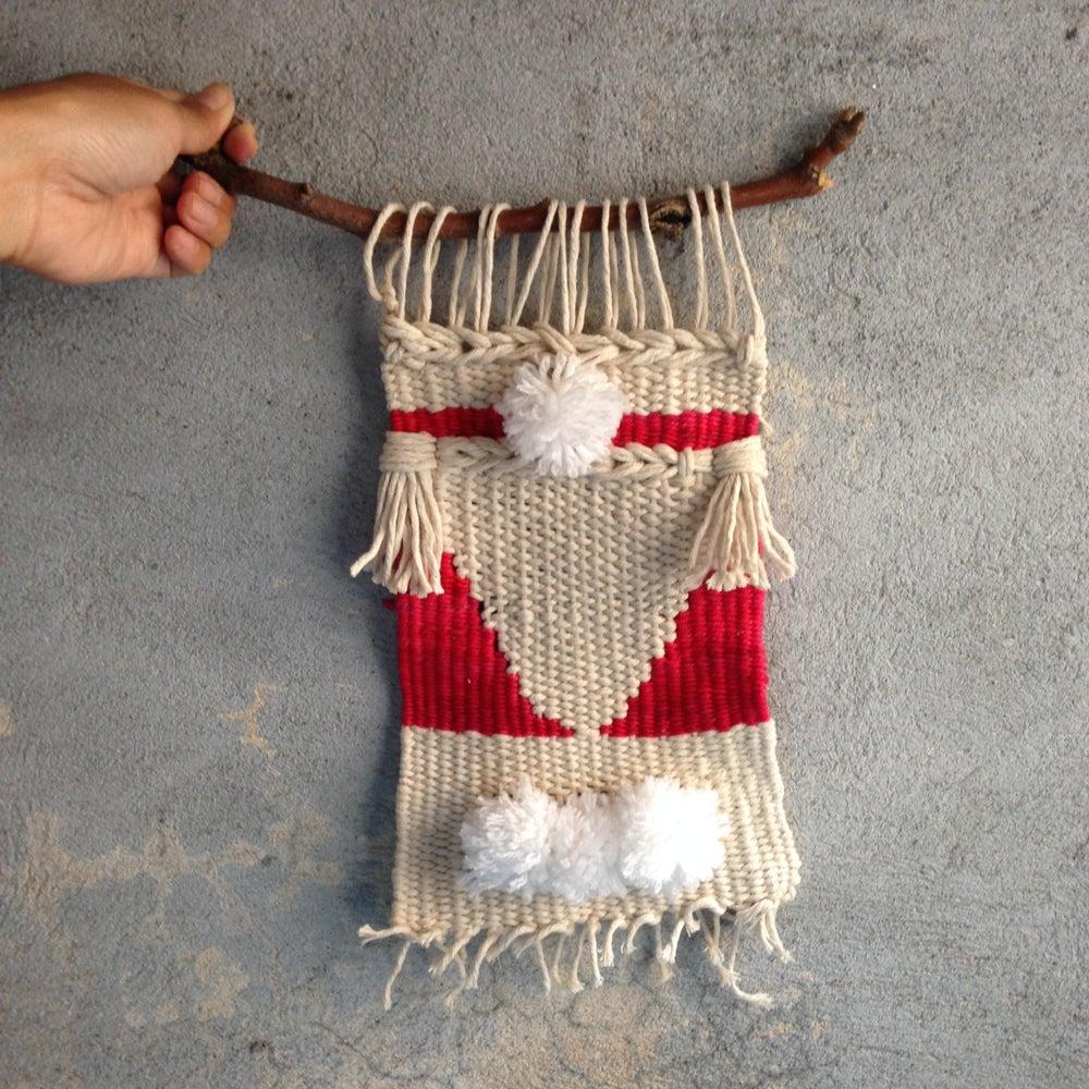 Image of Handmade Tapestry Wall Weaving 4