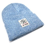 Image of Keys Open Doors Beanie (L Blue)