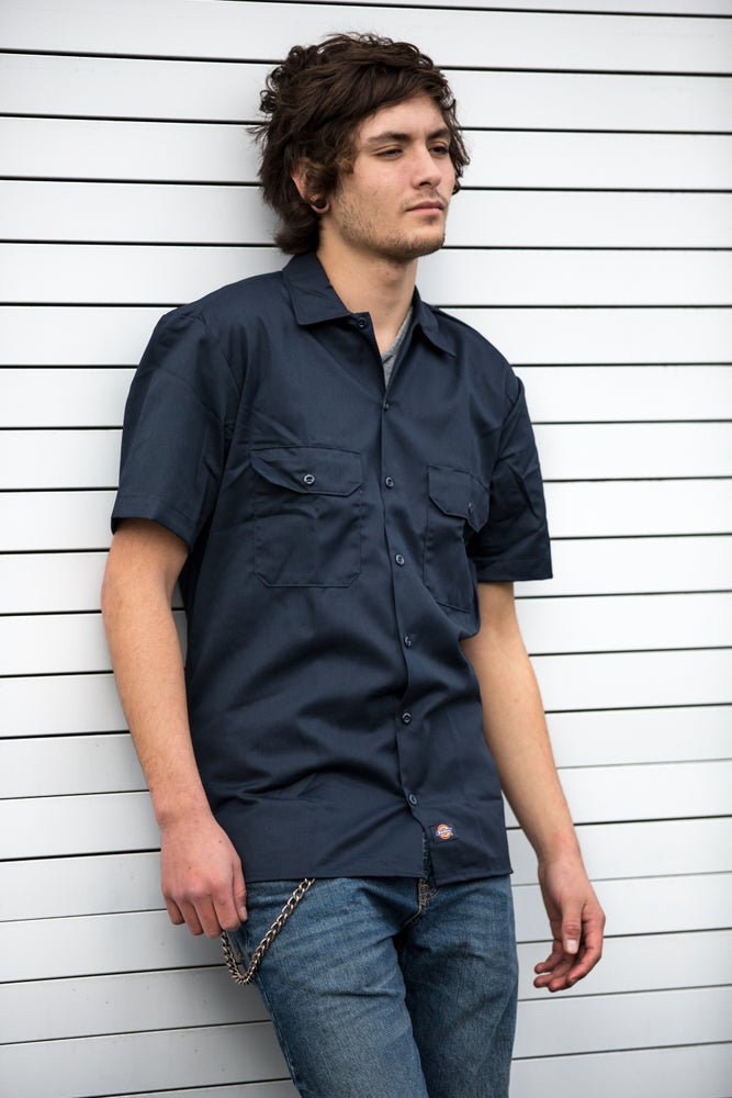 Image of DICKIES Shirts-Matching Colors:style #1574, 574