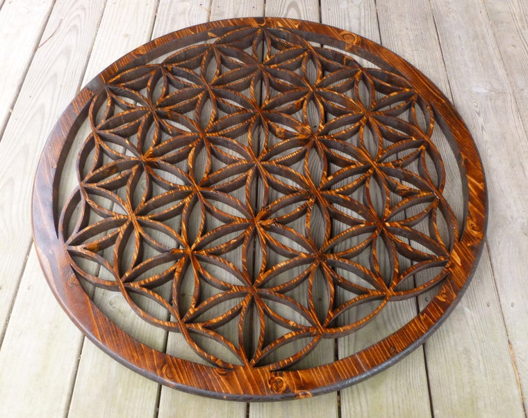 Image of Flower of Life: Intricate 36""