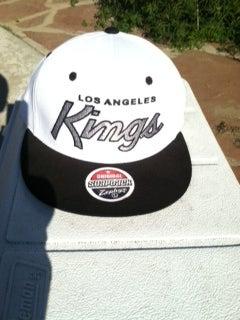 Image of LA KINGS SNAP BACK (WHITE)