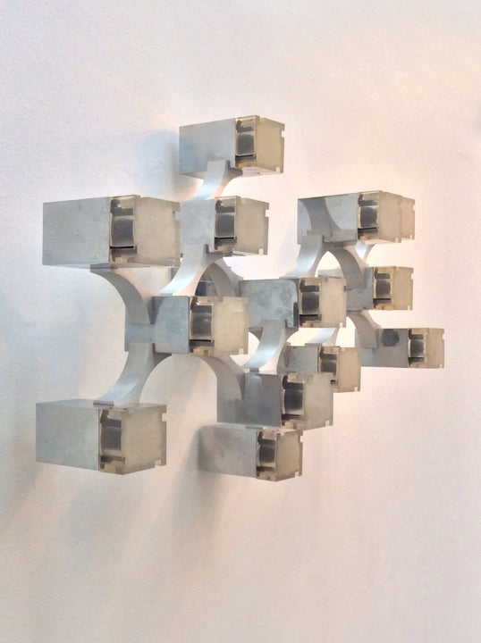 Image of Sciolari Cubic Wall Light