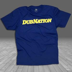Image of DUBNATION '92 BLUE SHIRT