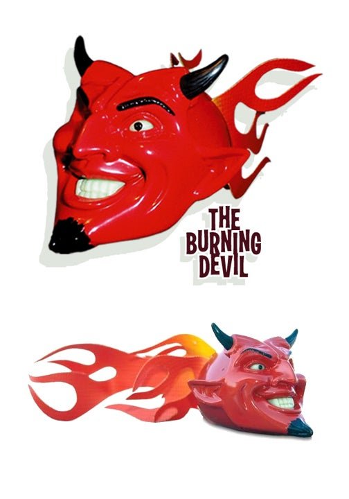Image of Burning Devil Antenna Topper