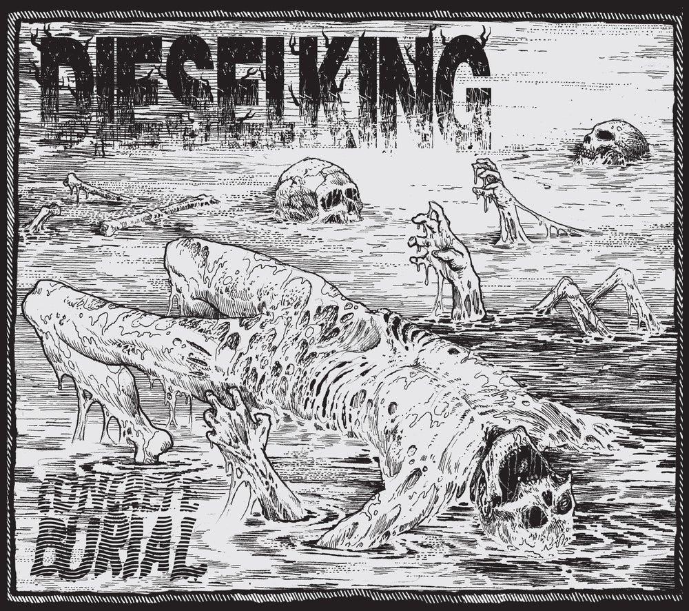 Image of DIESEL KING - 'Concrete Burial' CD