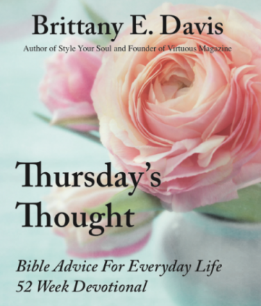Image of Thursday's Thought: 52 Week Bible Devotional