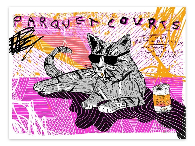 Image of Parquet Courts - Cambridge, MA