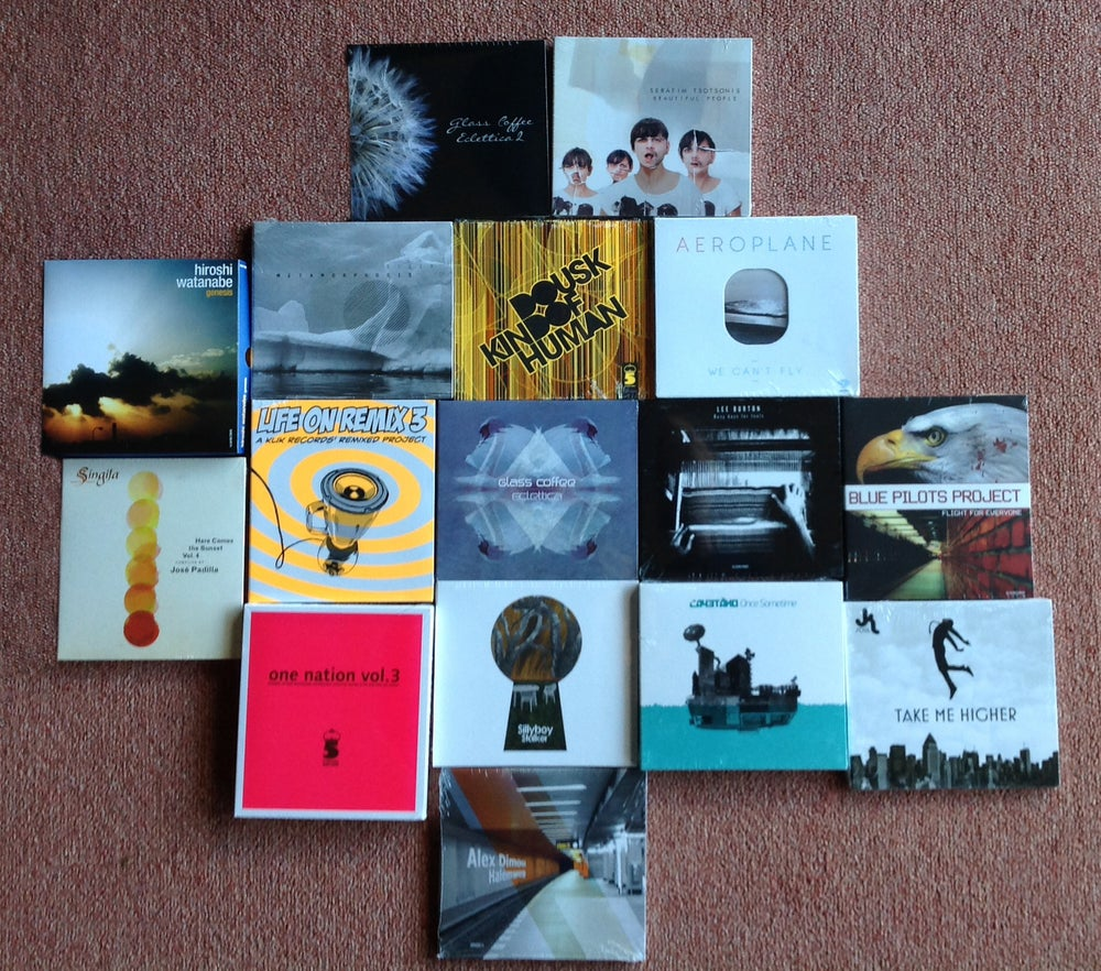 Image of OFFER  Get ANY 10 Klik  Records Releases For 40 Euros + Shipping Costs.