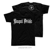 "Image of 2015 ""Yaqui Pride"" Script Shirt"