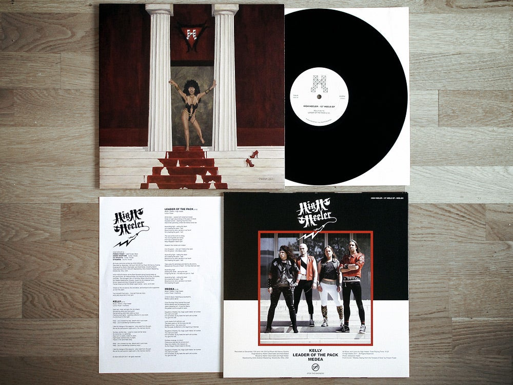 Image of 12 INCH HEELS VINYL EP