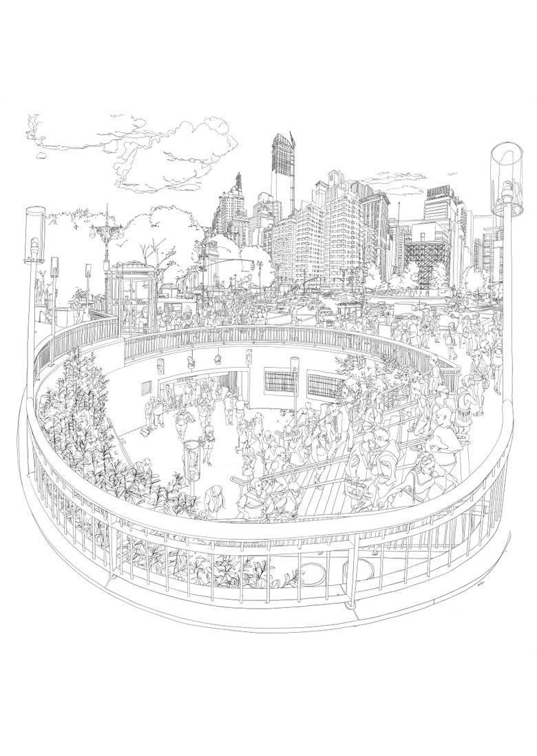 Image of Columbus Circle, Manhattan