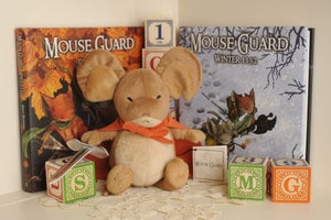 Image of Mouse Guard Saxon plush - SOLD OUT