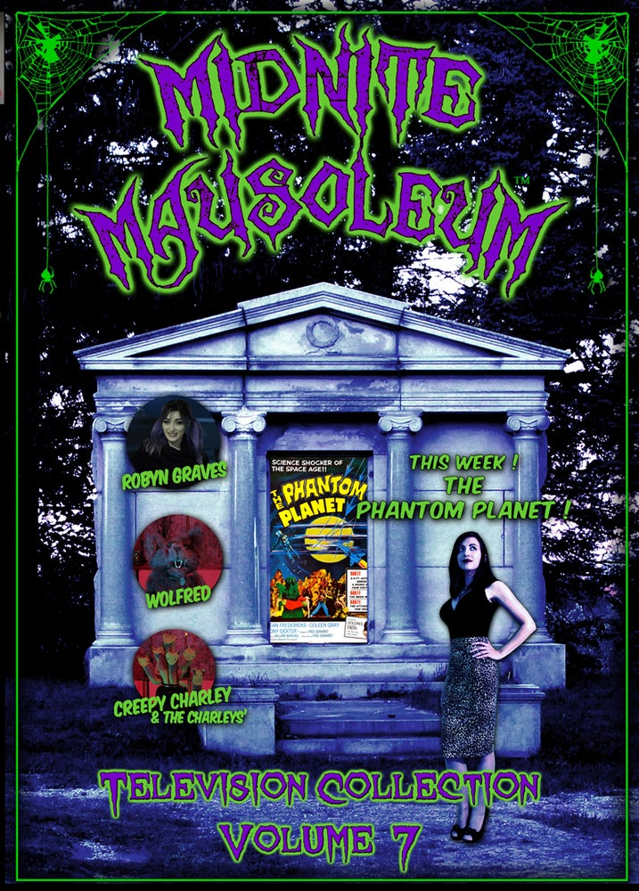 Image of *NEW* MIDNITE MAUSOLEUM TV Collection #7 DVD