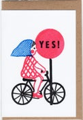 Image of YES! card