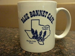 Blue Bonnet Cafe Coffee Mug